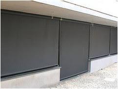 Le Store Vertical Sans Guide Pour Ext Rieur Degrif Store