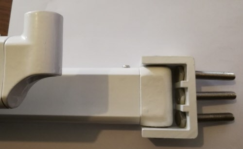 paire de bras cable gain pour store banne. Black Bedroom Furniture Sets. Home Design Ideas